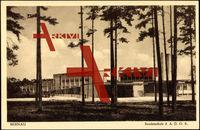 Bernau, Bundesschule der A.D.G.B von außen, Bauhaus