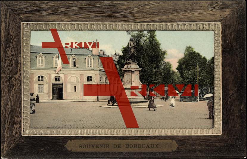 Passepartout Bordeaux Gironde, Marine, Statue, Place