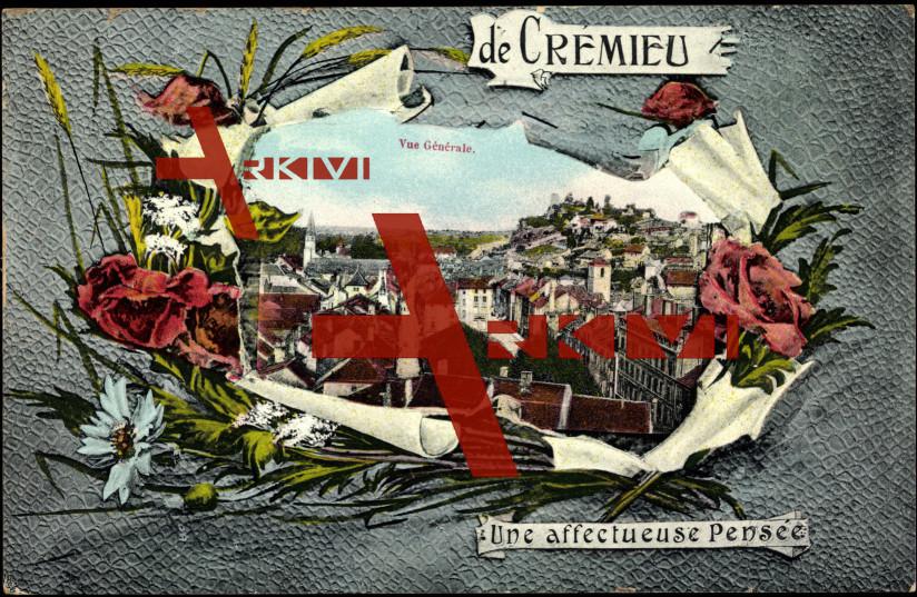 Passepartout Cremieu Isere, Vue générale, Fleurs