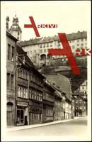 Rudolstadt, Töpfergasse, Volksbuchhandlung