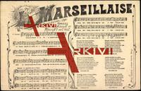 Lied Chant National 1798, La Marseillaise
