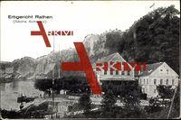 Klapp Kurort Rathen sächs. Schweiz, Haus Erbgericht