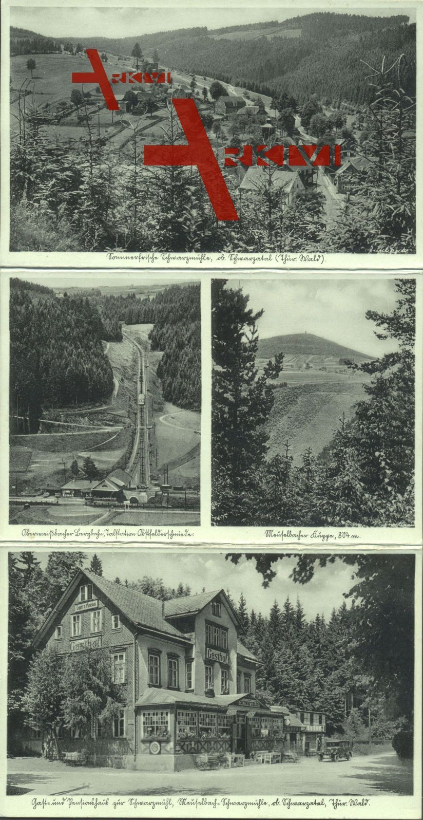 Klapp Meuselbach Schwarzmühle, Gasthaus Bergbahn