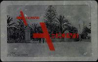 Metall Cadiz Andalusien, Männer, Eingangstor z. Park