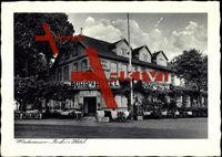 Wintermoor Schneverdingen, Partie an Buhr's Hotel