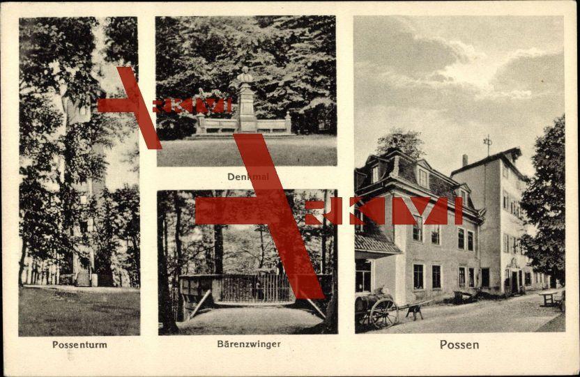 Possen Sondershausen, Bärenzwinger, Possenturm