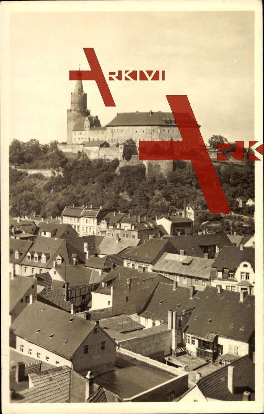 Weida, Blick auf die Osterburg, Kreismuseum