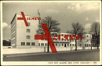 Dresden Sachsen, Blick zum Haus der Jugend