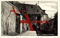 Altenburg Thür., Blick auf das hintere Schloßtor