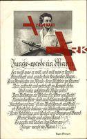 Lied Junge werde ein Mann, Eugen Stangerl, Ruderboot