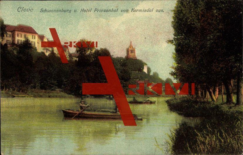 Kleve, Schwanenburg, Hotel Prinzenhof, Kermisdahl; ungelaufen, sehr guter Zustand; PLZ 47533