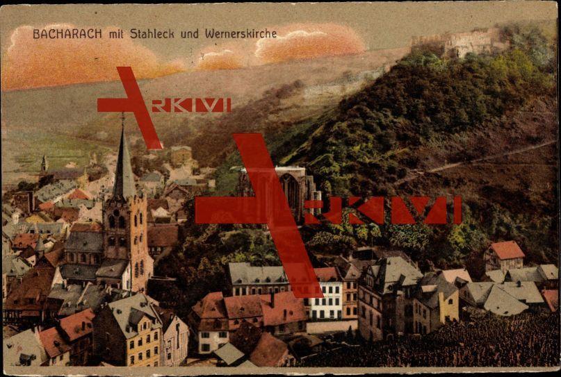 Bacharach am Rhein, Stahleck mit Wernerskirche