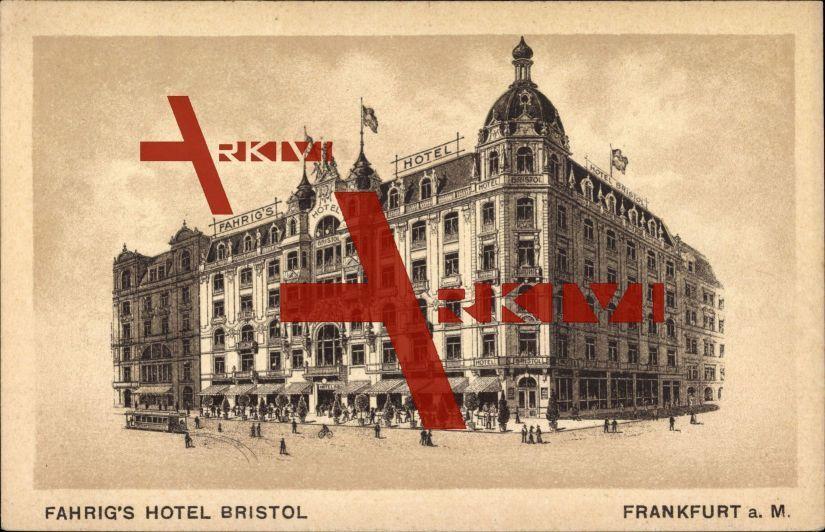Frankfurt am Main, Fahrigs Hotel Bristol