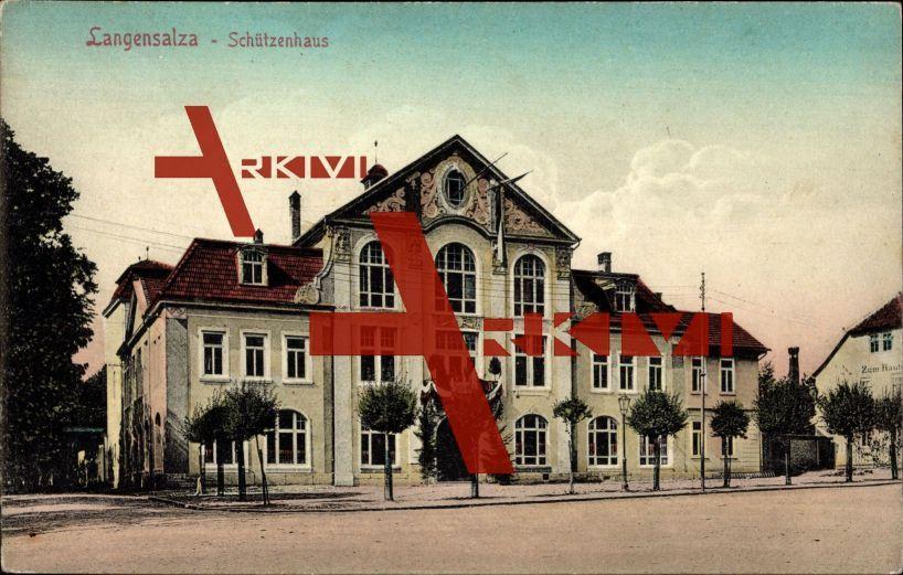 Bad Langensalza Thüringen, Ansicht d. Schützenhauses