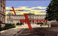 Kaiserslautern, Das Pfälzische Gewerbemuseum ; gelaufen 1910, sehr guter Zustand ; PLZ 676