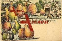 Gotha, Gruss von der Landes Obst Ausstellung 1902; ungelaufen, sehr guter Zustand; PLZ 99867
