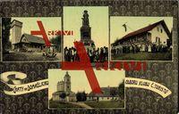 Domazlice Region Pilsen, Chaty, Bauden, Denkmal; ungelaufen, sehr guter Zustand