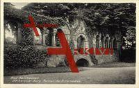 Gelnhausen, Barbarossa Burg, Ruinen des Rittersaales