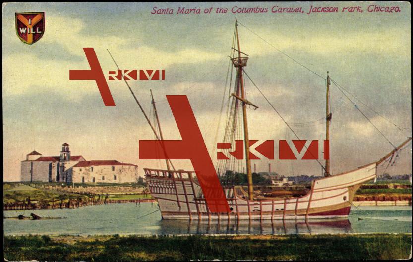 Chicago Illinois, Columbus Caravelle 'Santa Maria' im Jackson Park