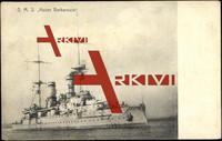 Deutsches Kriegsschiff S.M.S. Kaiser Barbarossa