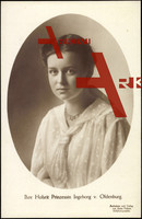 Passepartout Prinzessin Ingeborg von Oldenburg
