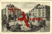 Köln am Rhein, Barbarossaplatz mit Hohenstaufenring
