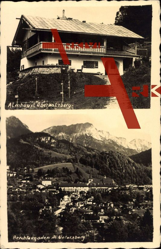 Berchtesgaden Oberbayern, Almhäusl Obersalzberg, Untersberg