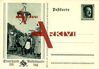 Ganzsachen Erntedankfest, Reichsbauerntag 1937, Maibaum