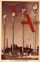 Paris, Weltausstellung 1937, Porte de la Concorde, M. Paul Bigot