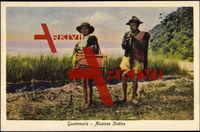 Guatemala, Musicos Indios, Musiker, Trommel, Flöte