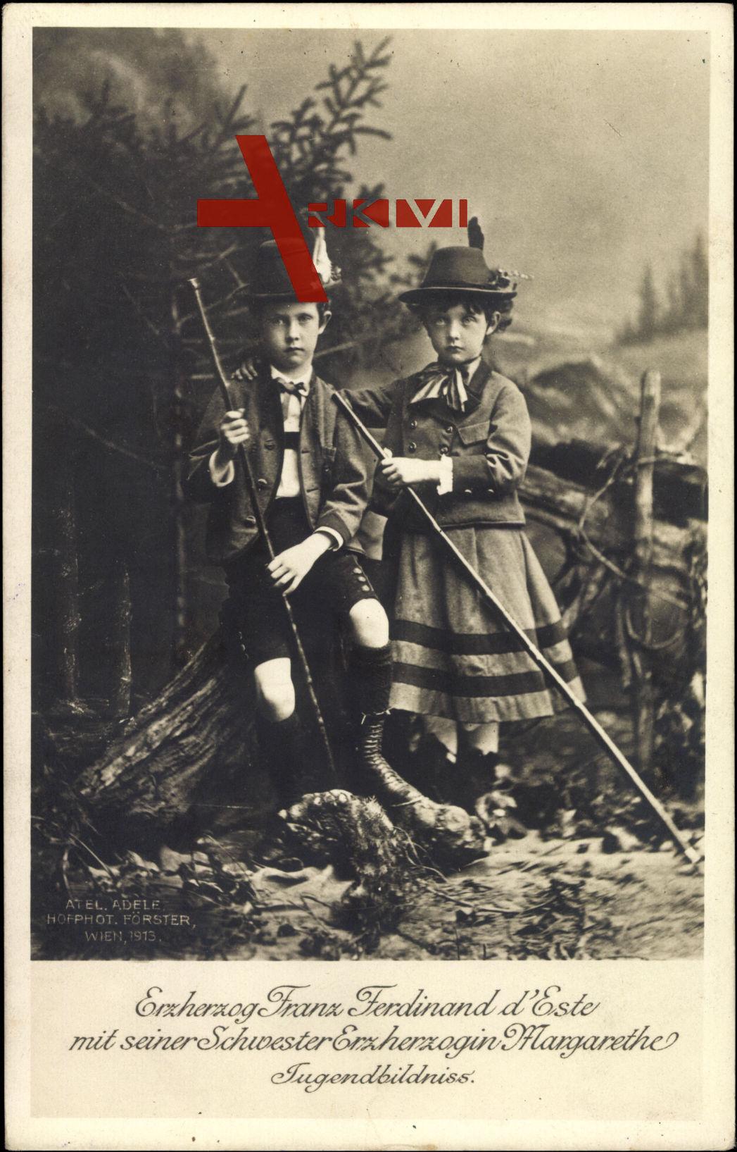Erzherzog Franz Ferdinand von Österreich Este, Erzherzogin Margarethe