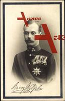 Passepartout Georg Wilhelm, Prinz von Hannover u. Cumberland