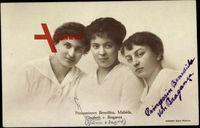 Prinzessin Benedikta, Mafalda, Elisabeth von Braganza