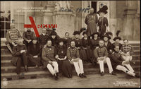 Kaiser Wilhelm II., Kaiserin Auguste V., Kronprinzessin Cecilie