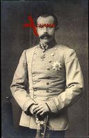 Kronprinz Rudolph von Österreich Ungarn, Uniform, Säbel, Bruststern