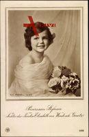 Prinzessin Stephanie von Windisch Graetz, Portrait, Blumen, NPG 5066