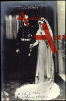 Prinz Friedrich, Prinzessin Maria Melita von Holstein Glücksburg, 15 02 1916