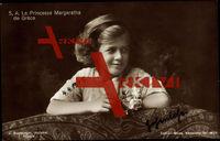 S.A. La Princesse Margaretha de Grece, Margarethe von Griechenland