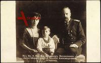 Xenija Alexandrowna Romanow, Alexander Michailowitsch, Adel Russland