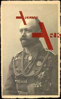 Fürst Otto von Stolberg Wernigerode, Portrait, Uniform, Orden, Abzeichen