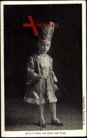 Prinz Rafael von Thurn u. Taxis, Teuere Gewänder, Stock, Hut