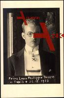 Prinz Louis Philipp von Thurn u. Taxis, Gestorben 22.04.1933