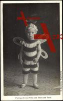 Prinz Philipp Ernst von Thurn und Taxis im Bienenkostüm