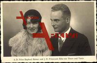 Prinz Raphael Rainer, Prinzessin Rita von Thurn u. Taxis