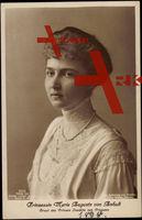 Prinzessin Marie Auguste von Anhalt, Braut des Prinzen Joachim von Preußen