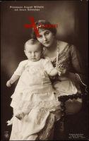 Prinzessin August Wilhelm mit ihrem Söhnchen, NPG 4726