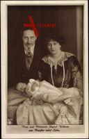 Prinz und Prinzessin August Wilhelm von Preußen, Sohn, NPG 4539