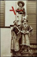 Prins Harald og Prinsessene Ragnhild og Astrid, Cowboy und Indianer Kostüme