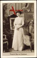 Prinzessin Olga von Cumberland, NPG 4582, Standportrait