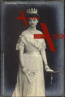 Großherzogin Alexandra von Mecklenburg Schwerin, Krone, Fächer